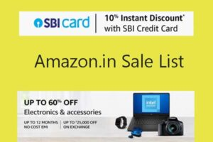 Amazon Great Offer Upcoming sale 2021 in India