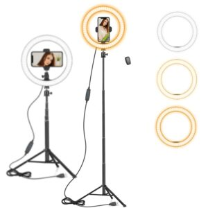 Best ring light stand with phone holder 2021