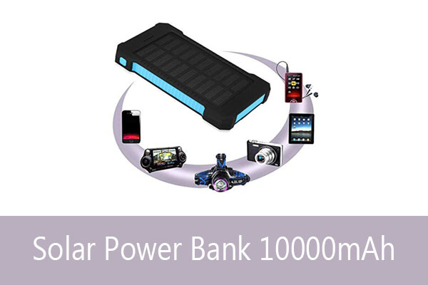 Best Solar Power Bank Mobile Charger in India