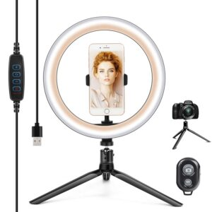 Best selfie ring light with tripod stand in india