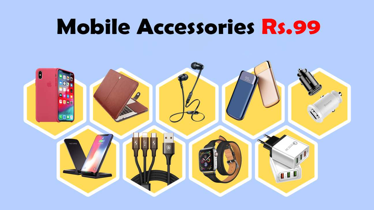 Mobile accessories under rs 99 in india