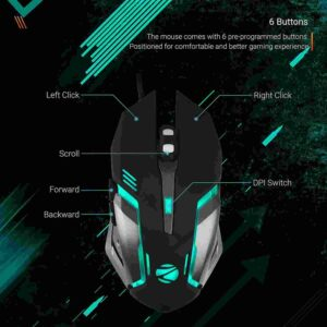 Best Gaming Keyboard  and Mouse Under 2000