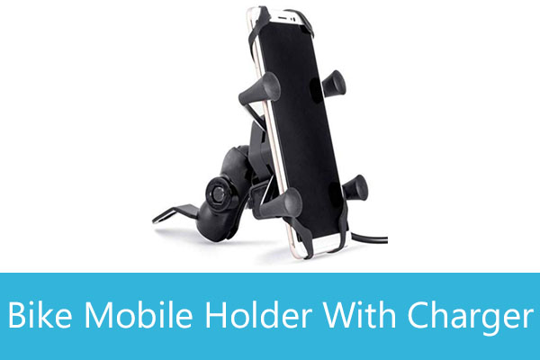 Cheap Mobile Holder for Bike with Charger in India