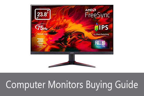 Computer Monitors Buying Guide