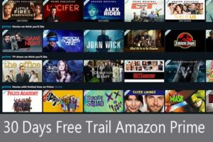 Read more about the article 30 Day Free Watching Movie (Bollywood, Hollywood, Tamil, South, Punjabi, Hindi We Series) Amazon Prime